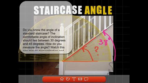staircase angle youtube