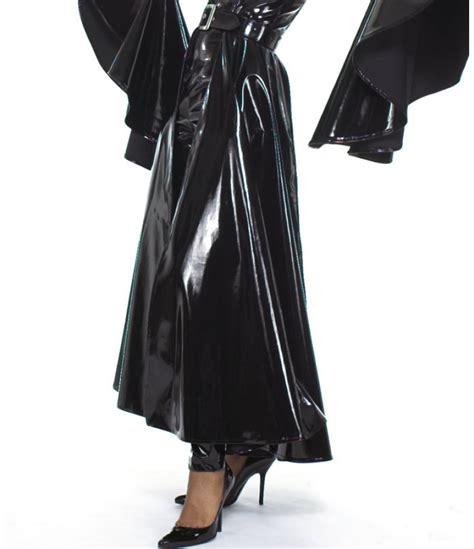skirts pu pvc skirt