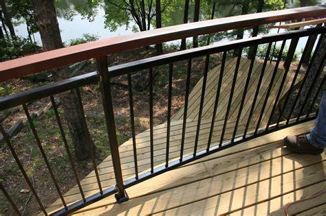 deck railing ideas wood home design ideasdistinctive and various composite terrace