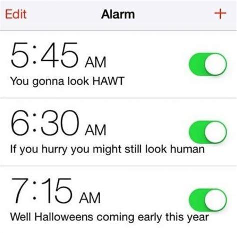 Alarm Clock Meme - girls alarm clock