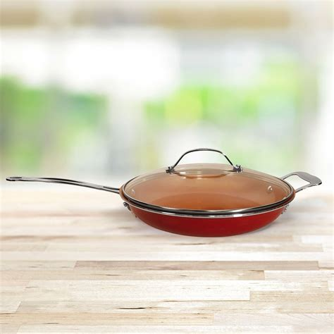 red copper  lid bulbhead