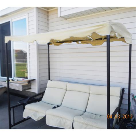 menards patio swing cushions menards glider swing replacement cushions set of 3
