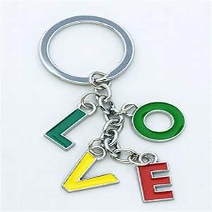 enamel alphabetic letter key chain buy metal alphabet With keychains with alphabet letters