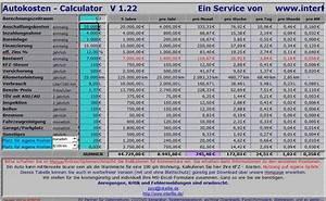 Excel Jahre Berechnen : auto kosten rechner download ~ Themetempest.com Abrechnung