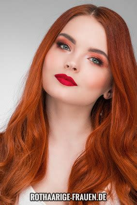 rote haare fakten rothaarige fakten rote haare attraktiver rothaarige frauen