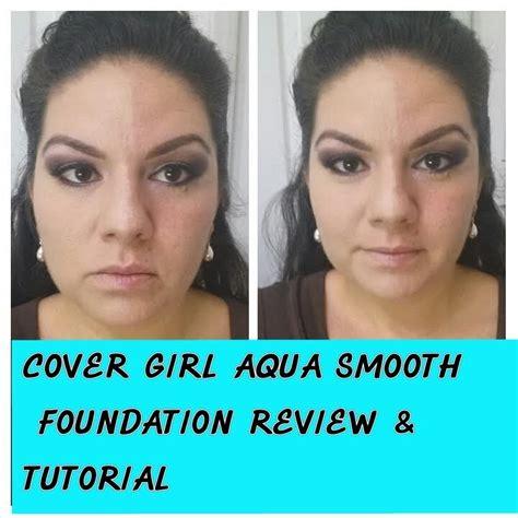 Cover Girl Aqua Smooth Foundation Review Tutorial Youtube