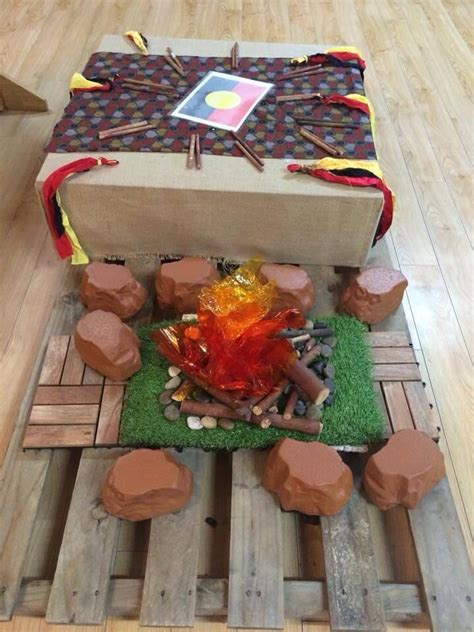part   traditional camp display early childhood