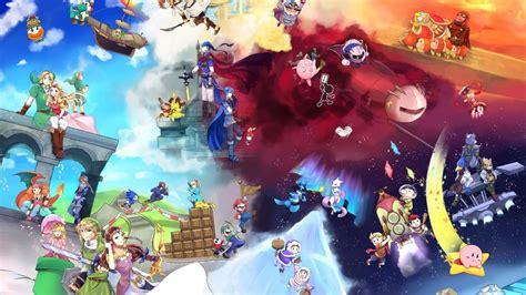 Smash Bros Anime Wallpaper - smash bros wallpaper 1366x768 wallpapersafari