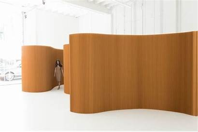 Paper Softwall Divider Kraft Molo Christofheinze Partition