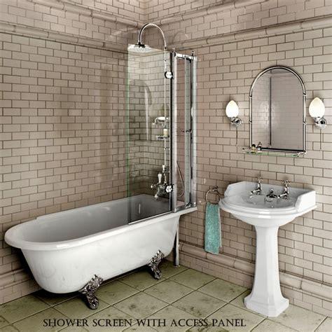 traditional tub burlington hton traditional shower bath uk bathrooms