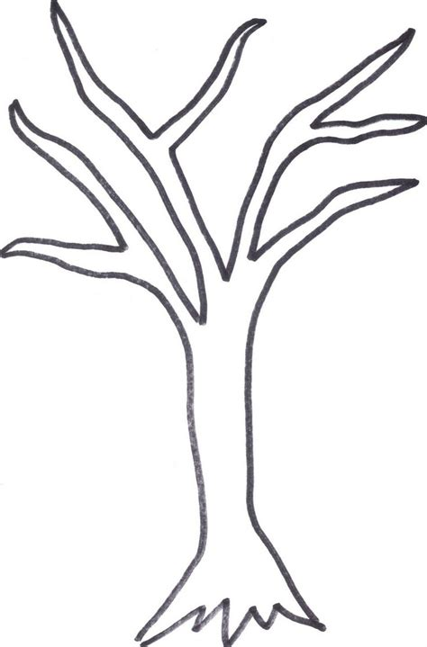 tree trunk clipart black and white free tree outline free clip free clip