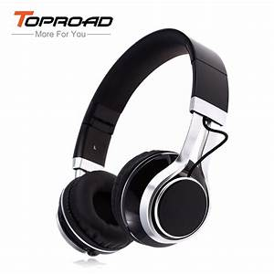 Toproad Ep16 Wired Foldable Headphone Stereo Noise