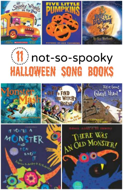 11 not so spooky song books 203 | 11 not so spooky Halloween Song Books great rhyming books and songs for kids