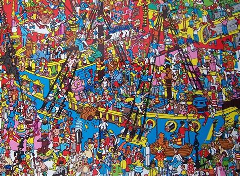 Me in My 30s World: Where's Wally?