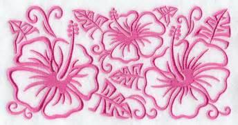 pink hydrangea hibiscus design free clip free clip