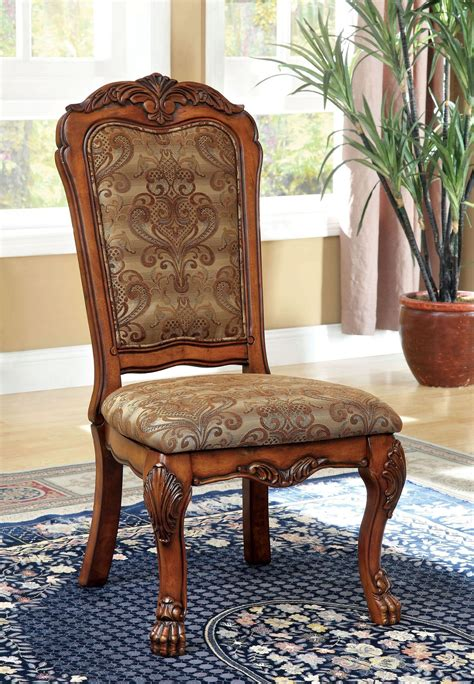 medieve antique oak side chair set of 2 from furniture of