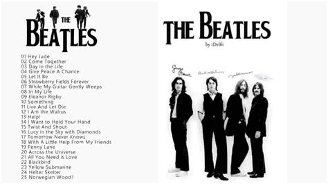 Beatles Best Of The Beatles Greatest Hits Best Of The Beatles
