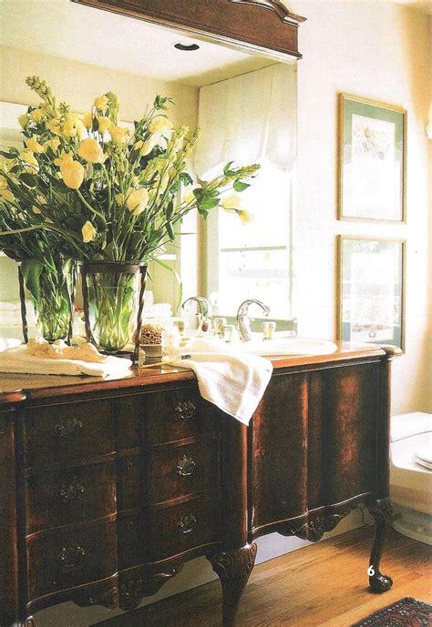 Repurposed Sideboard by Exle Of Buffet Repurposed As Bath Vanity Sink
