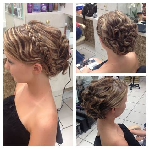 less is more prom hairstyles for medium hair can be set