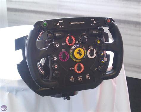 thrustmaster announces ferrari  replica racing wheel