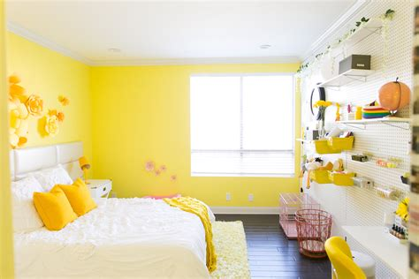 yellow rooms mr kate adelaine morin s hello yellow bedroom makeover