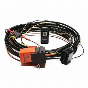 Heated Windscreen Wiring Kit With Carling Switch Part Ba10290