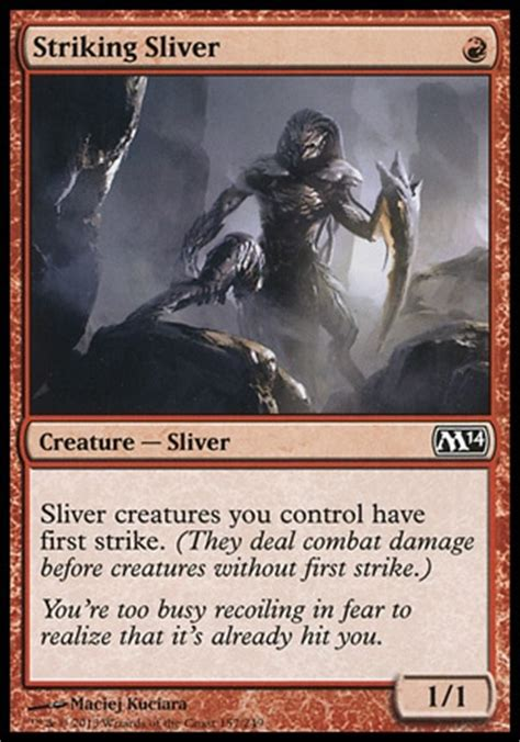 Sliver Deck Mtg Standard by Primer Sliver Aggro The Hivemind Standard Archives