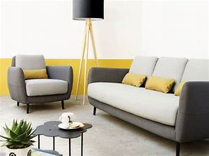 Décoration Salon Jaune Moutarde : le jaune moutarde pimente notre int rieur elle d coration ~ Melissatoandfro.com Idées de Décoration