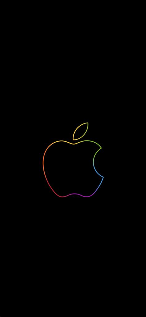 apple event rainbow logo static version event