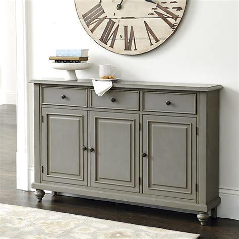 accent console cabinet ballard designs martin 3 door console contemporary