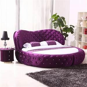 Purple Heart Shaped Bed Incredible Homes Choosing
