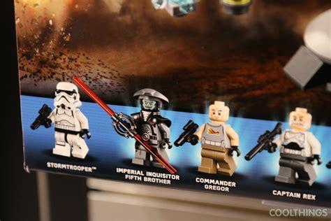 lego star wars set  captain rexs  te