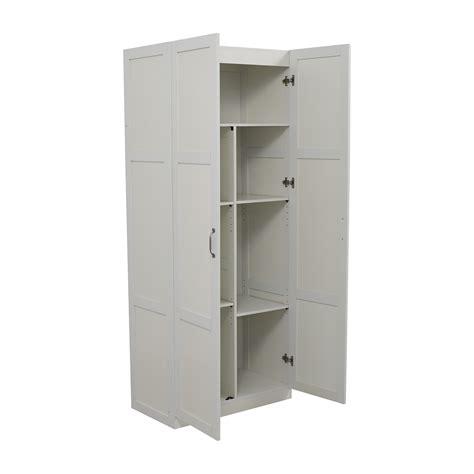 white kitchen pantry storage