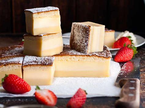 recipetin eats  layer custard magic cake kitchen