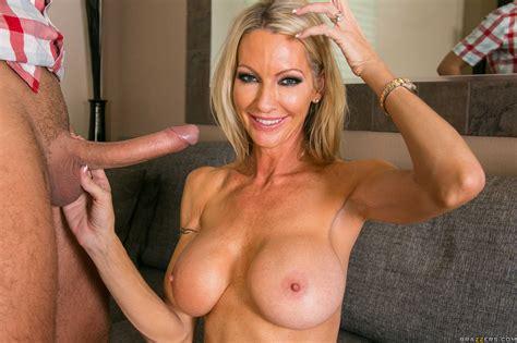 Slender Blonde With Big Tits Sucks Cock Photos Emma Starr