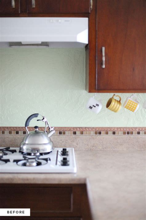 kitchen wall backsplash how to an inexpensive plank backsplash a beautiful mess
