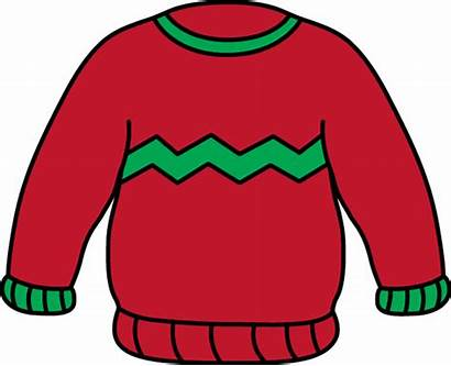 Sweater Clipart Jumper Clip Sleeve Holidays Outerwear