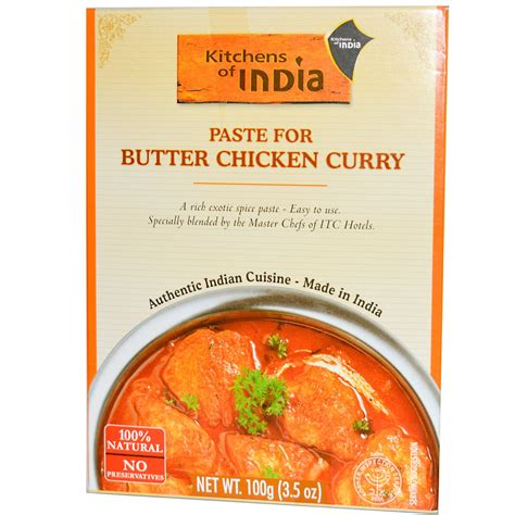Kitchens Of India Paste For Butter Chicken Curry 3 5 Oz