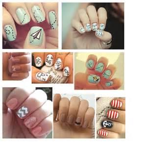 Easy peasy diy nail artmade peachy