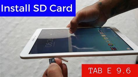 samsung galaxy tab     insert micro sd card youtube