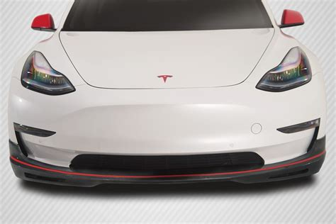 Download Stanced Tesla 3 Front Lip Pictures