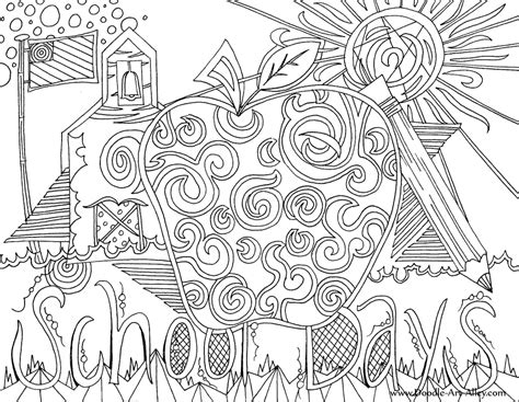 days   week coloring pages  getcoloringscom