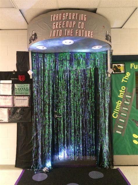 star trek spirit week door decorating classroom