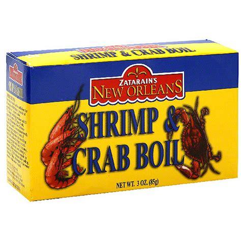 crab boil seasoning zatarain s shrimp crab boil seasoning 3 oz pack of 12 bakery bread walmart com