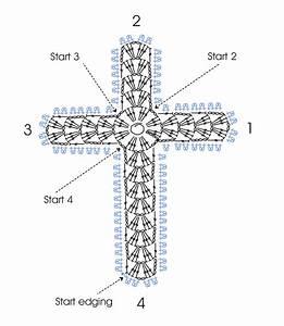 Cross Bookmark  U2013 Two Patterns  U2013 Rainbow Junkie