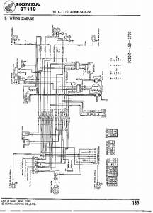 Honda Ct110 81 Wiring Diagram  61699