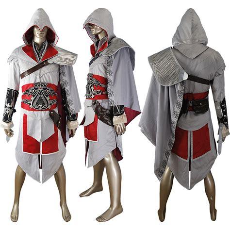 Assassins Creed Brotherhood Ezio Cosplay Costume Unique