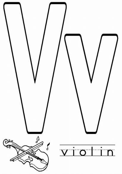 Letter Coloring Pages Alphabet Printable Letters Numbers