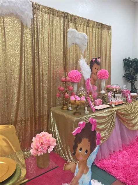 angel heaven baby shower party ideas photo