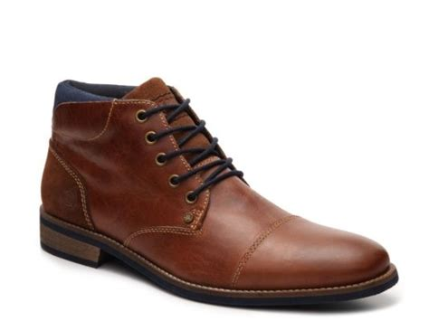 Men's Bullboxer Tapps Cap Toe Chukka Boot